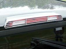 TITAN 2004-2015 NISSAN 4-door (1 piece Chrome Plated ABS plastic 3rd Brake Lamp  Brake Light Bezel) BL24515 QAA