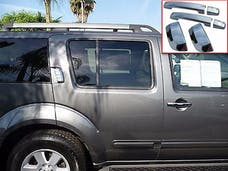 ARMADA 2004-2015 NISSAN 4-door, SUV (6 piece Chrome Plated ABS plastic   Door Handle Cover Kit) DH24528 QAA