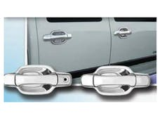 CANYON 2004-2012 GMC 4-door (8 piece Chrome Plated ABS plastic Does NOT include passenger key access  Door Handle Cover Kit) DH44150 QAA