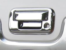 F-250 and F-350 SUPER DUTY 2008-2015 FORD 2/4-door (2 piece Chrome Plated ABS plastic Does NOT include camera access  Tailgate Handle Cover Kit) DH44307 QAA