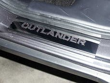 OUTLANDER 2007-2009 MITSUBISHI 4-door, SUV (4 piece Stainless Steel Includes