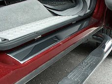 F-150 2004-2008 FORD Super Cab (4 piece Stainless Steel 2.25