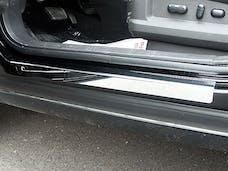 MKX 2007-2013 LINCOLN 4-door, SUV (4 piece Stainless Steel   Door Sill trim) DS47610 QAA