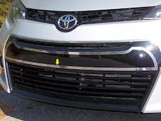 COROLLA 2014-2016 TOYOTA 4-door (1 piece Stainless Steel   Front Bumper Trim) FB14112 QAA
