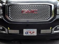 YUKON 2015-2019 GMC 4-door (2 piece Stainless Steel   Front Bumper Trim) FB55297 QAA