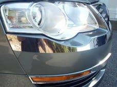 PASSAT 2006-2010 VOLKSWAGEN 4-door (2 piece Stainless Steel   Head Light Accent Trim) HL26675 QAA