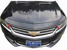 IMPALA 2014-2019 CHEVROLET 4-door, NOT LIMITED (2 piece Stainless Steel   Head Light Accent Trim) HL54135 QAA