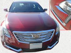 CT6 2016-2018 CADILLAC 4-door (2 piece Stainless Steel   Head Light Accent Trim) HL56230 QAA