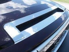 FJ CRUISER 2007-2014 TOYOTA 4-door, SUV (2 piece Stainless Steel   Hood Vent Trim) HT27140 QAA