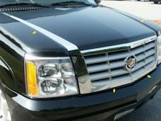 ESCALADE 2002-2006 CADILLAC 4-door, SUV (4 piece Stainless Steel   Hood Accent Trim) HT42255 QAA