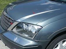 PACIFICA 2004-2007 CHRYSLER 4-door (4 piece Stainless Steel   Hood Accent Trim) HT44750 QAA