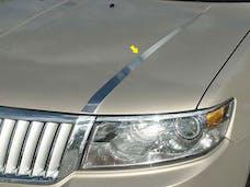ZEPHYR 2006-2006 LINCOLN 4-door (2 piece Stainless Steel   Hood Accent Trim) HT46630 QAA
