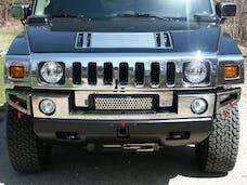 H2 2003-2009 HUMMER SUV (5 piece Stainless Steel   Front Bumper Trim) HV43007 QAA