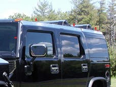 H2 2003-2009 HUMMER SUV (8 piece Stainless Steel   Top Rail Accent Trim) HV43017 QAA