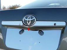 CAMRY 2007-2011 TOYOTA 4-door (1 piece Stainless Steel   License Bar, Above plate accent Trim) LB27130 QAA