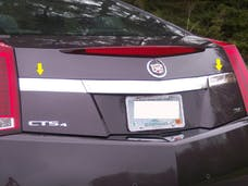 CTS COUPE 2011-2014 CADILLAC 2-door coupe (2 piece Stainless Steel   License Bar Extension Trim) LB50254 QAA