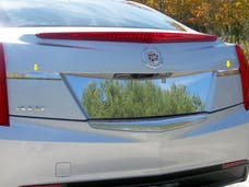 ATS 2013-2018 CADILLAC 4-door, Does not fit Coupe (2 piece Stainless Steel   License Bar Extension Trim) LB53235 QAA