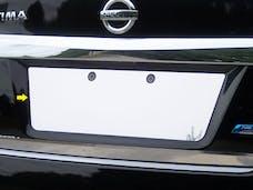 ALTIMA 2013-2015 NISSAN 4-door (1 piece Stainless Steel   License Plate Bezel) LP13550 QAA