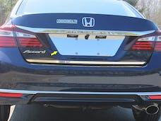 ACCORD 2016-2017 HONDA 4-door (1 piece Stainless Steel   License Plate Bezel) LP16281 QAA