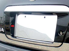 ALTIMA 2002-2006 NISSAN 4-door (1 piece Stainless Steel   License Plate Bezel) LP22550 QAA