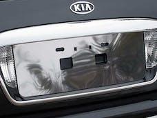 AMANTI 2004-2010 KIA 4-door (1 piece Stainless Steel   License Plate Bezel) LP24800 QAA