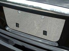 ALTIMA 2007-2012 NISSAN 4-door (1 piece Stainless Steel   License Plate Bezel) LP27550 QAA