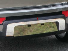 SOUL 2010-2011 KIA 4-door (1 piece Stainless Steel   License Plate Surround Trim) LPS10830 QAA