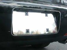 ZEPHYR 2006-2006 LINCOLN 4-door (2 piece Stainless Steel   License Plate Bezel and Surround Trim) LPS46630 QAA