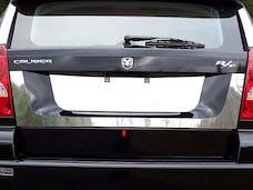 CALIBER 2007-2012 DODGE 4-door (1 piece Stainless Steel   License Plate Surround Trim) LPS47950 QAA