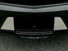 XTS 2018-2019 CADILLAC 4-door (2 piece Stainless Steel Extension trim  License Plate Surround Trim) LPS58245 QAA