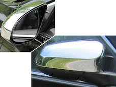 CAMRY 2012-2014 TOYOTA 4-door (2 piece Chrome Plated ABS plastic Top Half Only  Mirror Cover Set) MC12130 QAA
