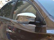 ALTIMA 2013-2013 NISSAN 4-door (2 piece Chrome Plated ABS plastic   Mirror Cover Set) MC13550 QAA