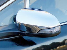 C-HR 2018-2019 TOYOTA 4-door (2 piece Chrome Plated ABS plastic Includes Cut Out for turn signal light  Mirror Cover Set) MC14112 QAA