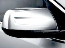ACADIA 2017-2019 GMC 4-door, SUV (2 piece Chrome Plated ABS plastic Top only  Mirror Cover Set) MC57425 QAA