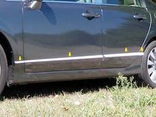 CIVIC 2006-2011 HONDA 4-door (8 piece Stainless Steel 0.5