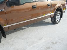 F-150 2004-2008 FORD Crew Cab, 6.5' Bed, NO Flares (12 piece Stainless Steel 1.5