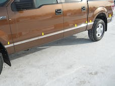 F-150 2004-2008 FORD Crew Cab, 5.5' Bed, NO Flares (12 piece Stainless Steel 1.5