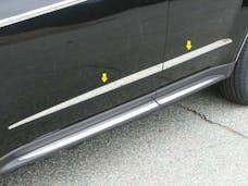 EQUINOX 2010-2017 CHEVROLET 4-door, SUV (4 piece Stainless Steel 0.5