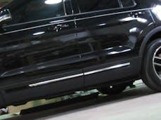 EXPLORER 2016-2019 FORD 4-door, SUV (4 piece Stainless Steel 0.75
