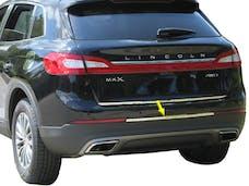 MKX 2016-2018 LINCOLN 4-door (1 piece Stainless Steel Spans between rear Marker Lights, 1