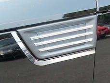 NITRO 2007-2009 DODGE 4-door, SUV (2 piece Stainless Steel   Porthole Accent Trim) PB47940 QAA