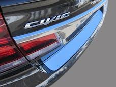 CIVIC 2012-2015 HONDA 4-door (1 piece Stainless Steel   Rear Bumper Trim Accent) RB12214 QAA
