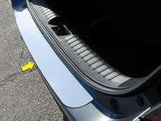 CIVIC 2016-2019 HONDA 4-door, Hatchback (1 piece Stainless Steel   Rear Bumper Trim Accent) RB16214 QAA