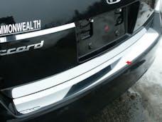 ACCORD 2008-2012 HONDA 4-door (1 piece Stainless Steel   Rear Bumper Trim Accent) RB28281 QAA