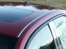 CTS 2003-2007 CADILLAC 4-door (2 piece Stainless Steel   Roof Insert Trim) RI43250 QAA