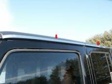 WRANGLER JK 2007-2018 JEEP 4-door (4 piece Stainless Steel   Roof Insert Trim) RI47085 QAA