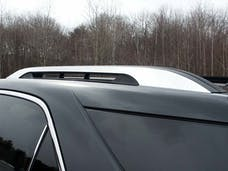 TERRAIN 2010-2017 GMC 4-door, SUV (2 piece Stainless Steel  Note: USE ADHESIVE PRIMER.This item adheres to the existing factory Roof Rack.You must have the factory Roof Rack to use this item. Roof Rack Trim) RR50160 QAA