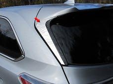 HIGHLANDER 2014-2019 TOYOTA 4-door, SUV (2 piece Stainless Steel   Rear Window Trim) RW14110 QAA