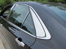 CAMRY 2015-2017 TOYOTA 4-door (2 piece Stainless Steel   Rear Window Trim) RW15130 QAA