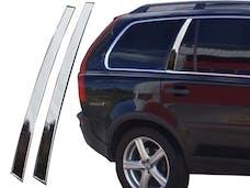 XC90 2007-2008 VOLVO 4-door (2 piece Stainless Steel   Rear Window Trim) RW27382 QAA